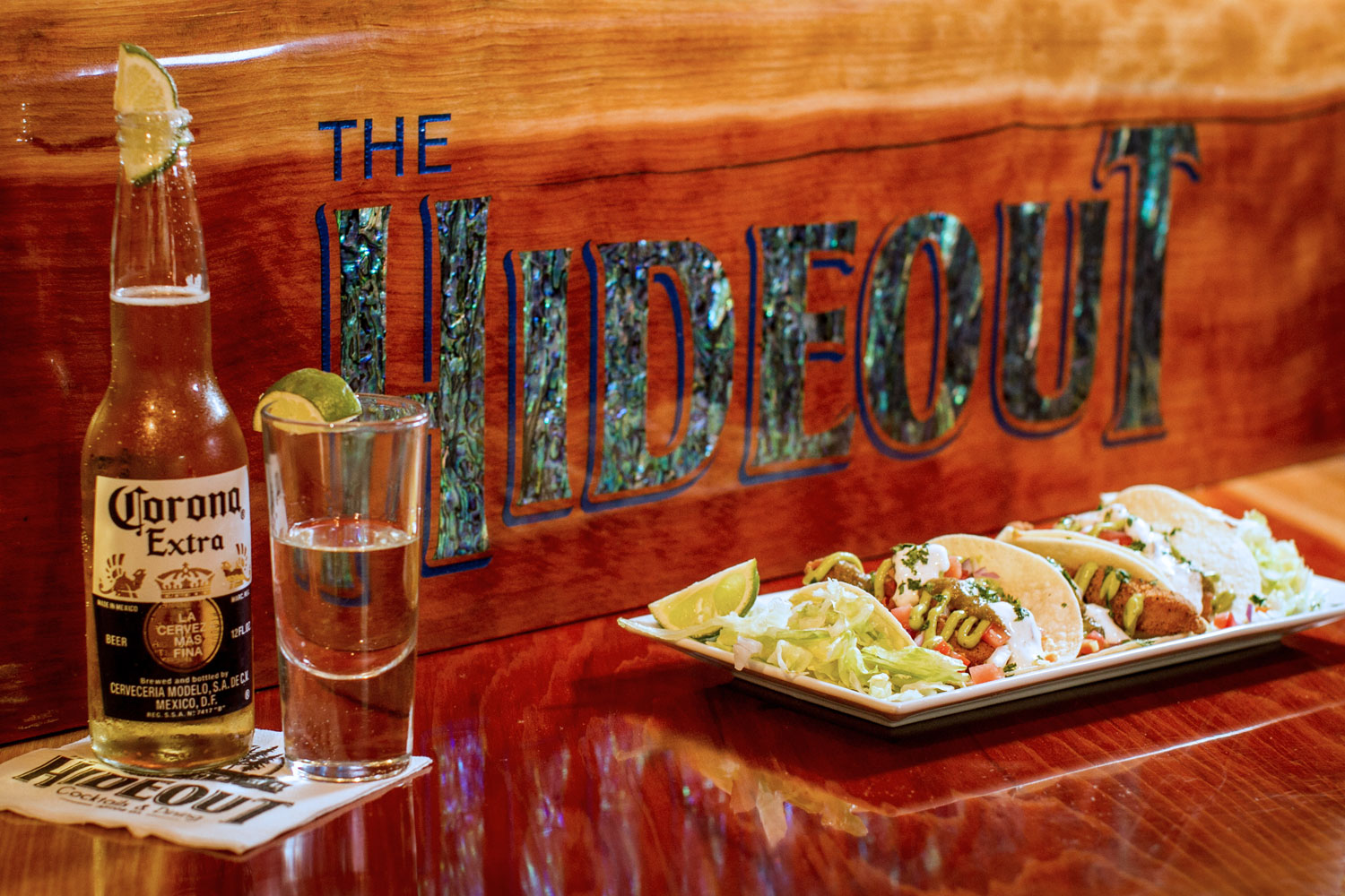 The Hideout, Cocktails & Dining